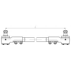 "Тяга поперечная АМАЗ 101-3414110 (L=1205 мм) МАЗ 103/107( ОАО ""БААЗ"")"