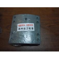 Накладка тормозной колодки(зад) к-т 8шт Higer 6885/6896/6891