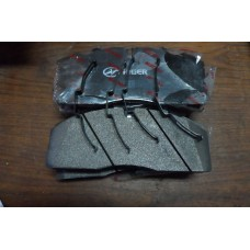 Колодка диска тормозного передняя (комплект) Higer 6885 35А13-19505