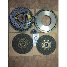 Сцепление ЛИАЗ 5256 2-дисковое комплект D=350. дв. САТ AKN-L1057A