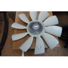 Муфта вязкостная в сборе с вентилятором ЛиАЗ-5256/5293, Кавз-4236 (под крыльчатку Ø650мм-10 лопастей) 5256-1308011/020003784/ОТ-141002/ОТ-141001/HTKS020003784