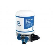 Осушитель воздуха однокамерный с регулятором давления, 8.1 Бар, 12 В, 4 отверстия 4324101270/LA6277 ПАЗ