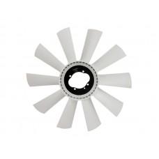 Крыльчатка вентилятора муфты вязкостной системы охлаждения 040001691 КАМАЗ-4307, ПАЗ, КАВЗ с дв.Cummins B3.9 140 CIV (Ø520мм-10 лопастей)